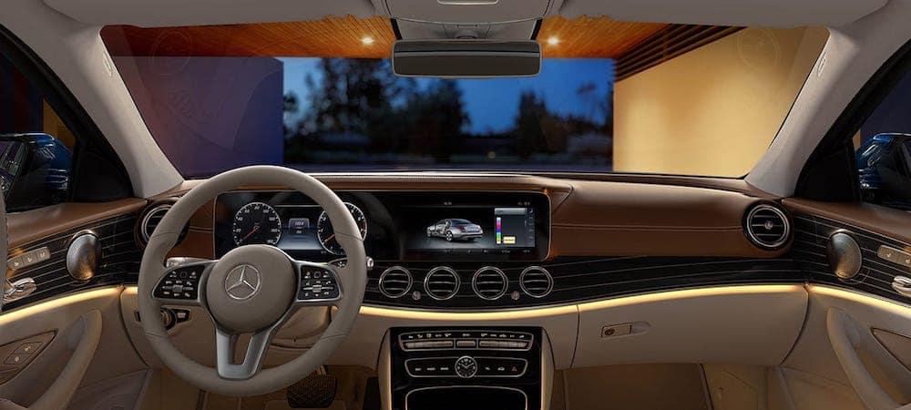 2020 Mercedes-Benz E-Class Dash
