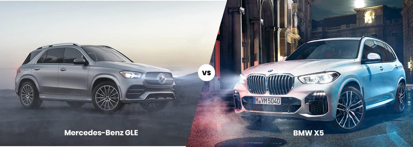 Mercedes-Benz GLE vs BMW X5 comparison