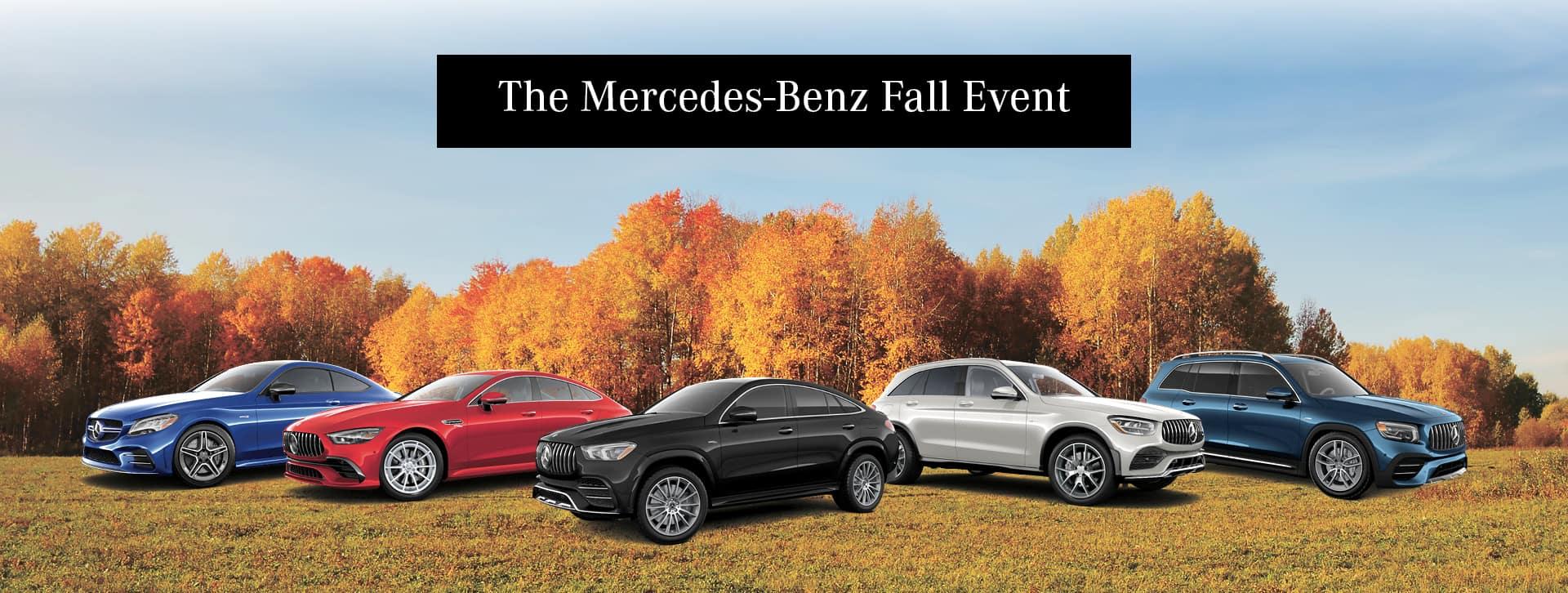 The Merceds Benz Fall Event
