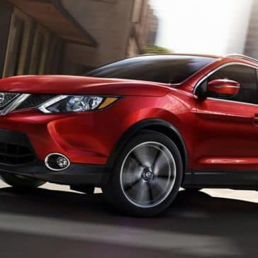 2018 5 Nissan Rogue Sport exterior design profile