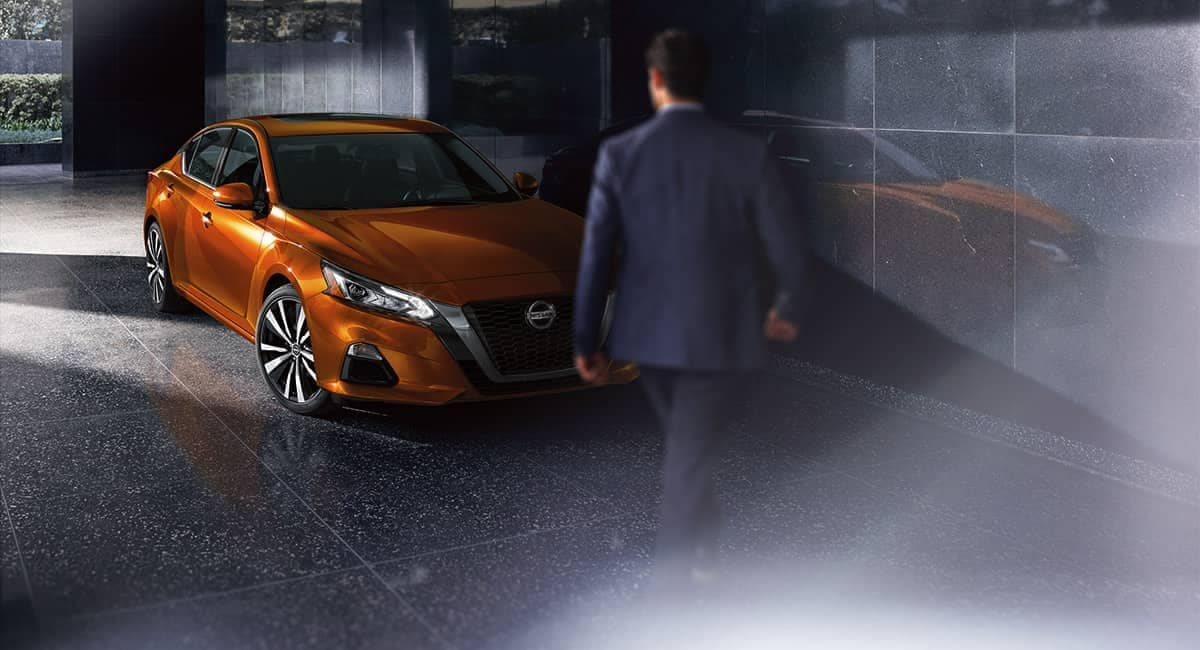 2019 Nissan Altima parked