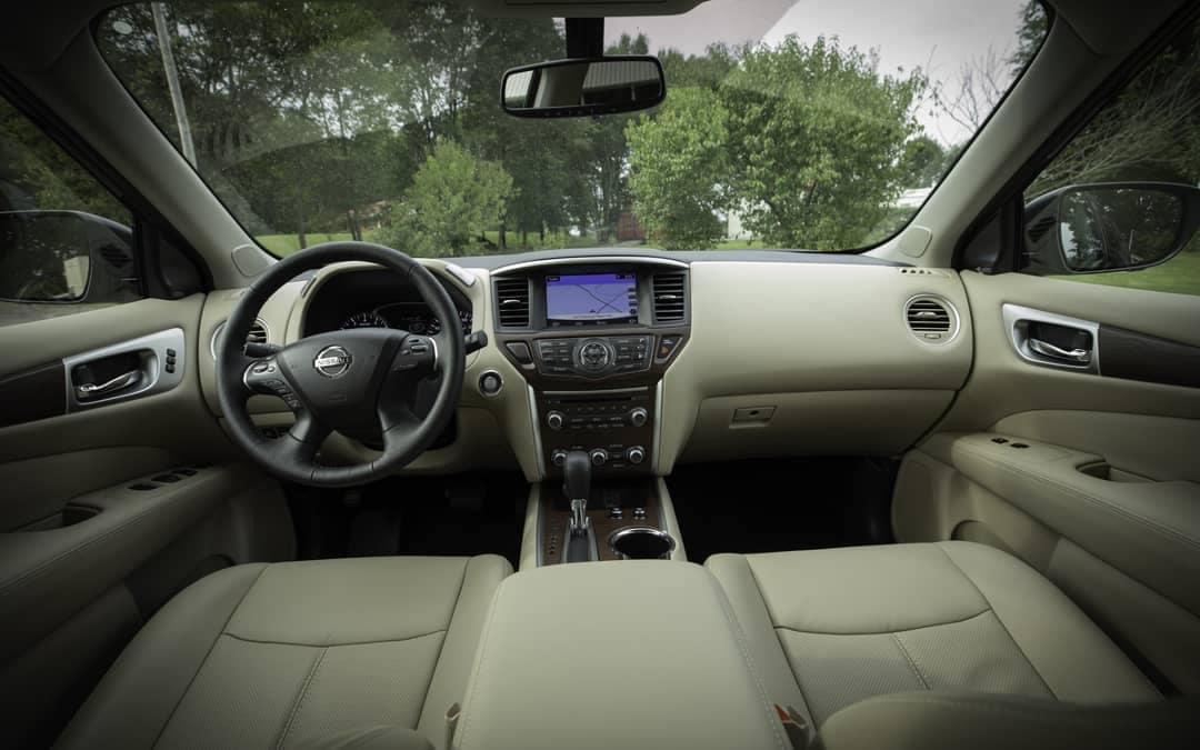 2019 Nissan Pathfinder Dash