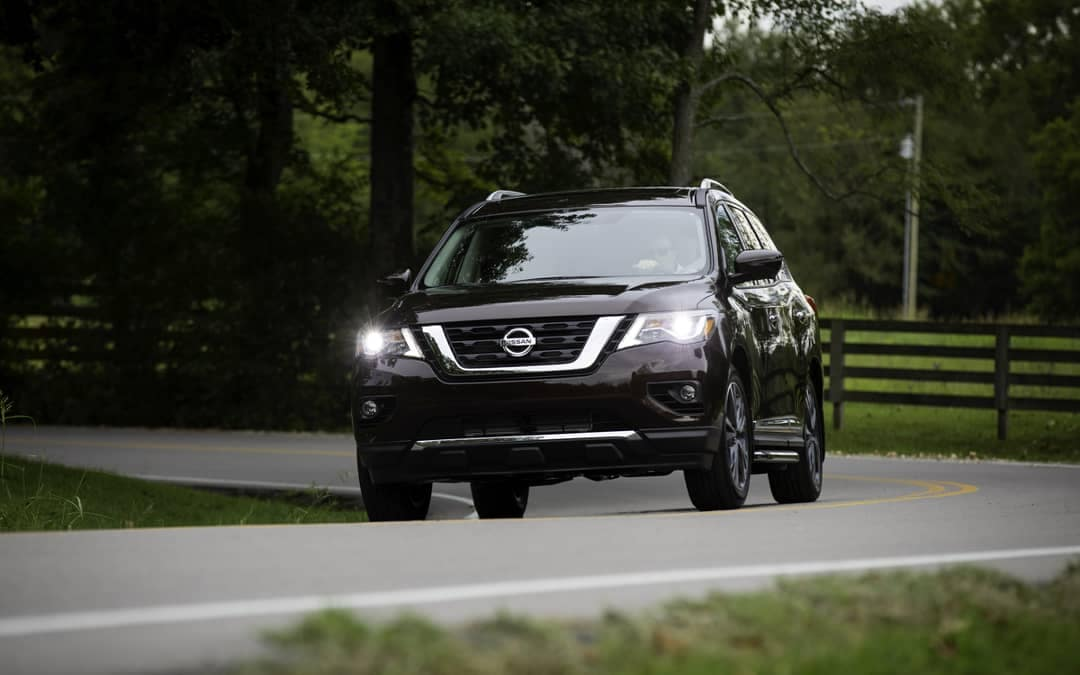 2019 Nissan Pathfinder Black