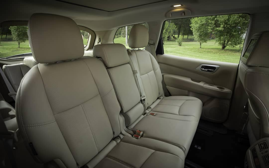 2019 Nissan Pathfinder Seating