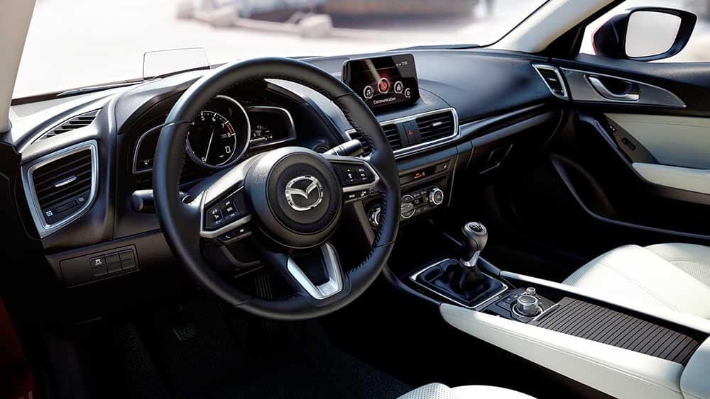 2018 Mazda3 Sedan Interior Technology Features