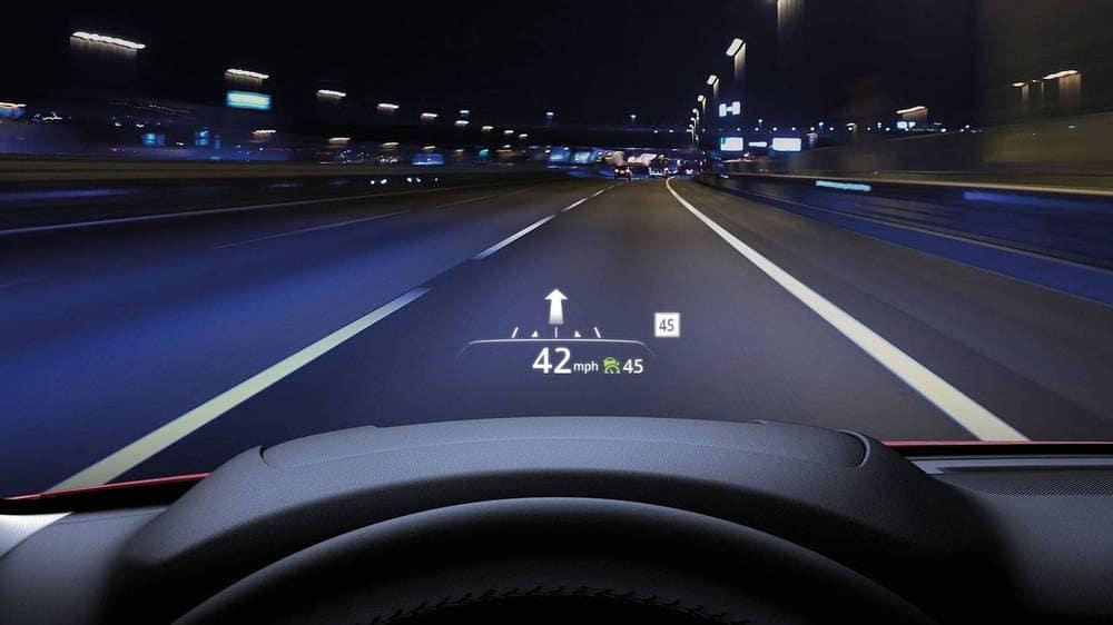 2018 Mazda CX-5 HUD