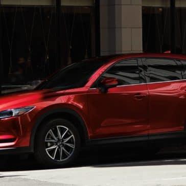 2018 Mazda CX-5 Fuel Efficient SUV side profile