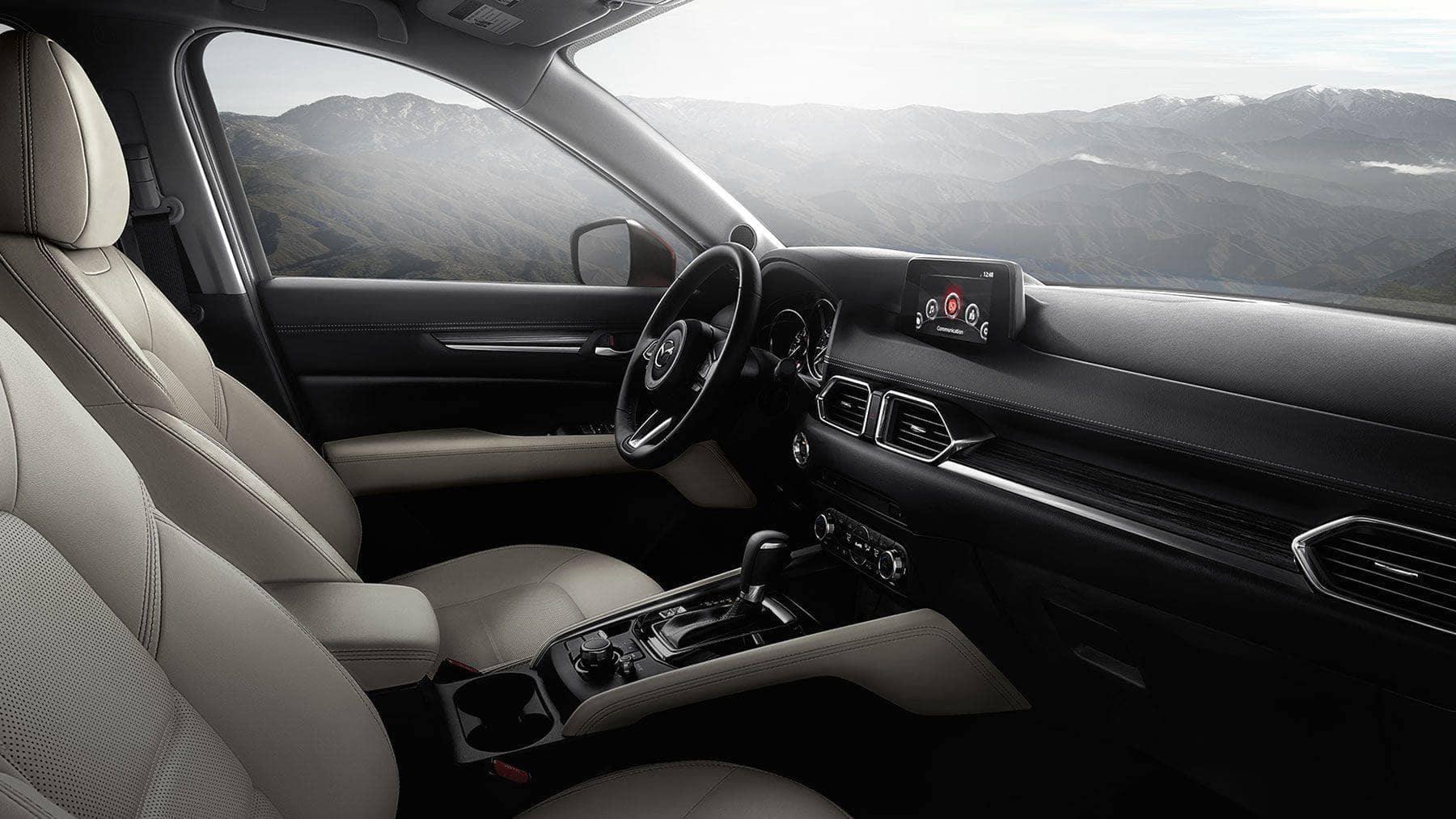 2018 Mazda CX-5 interior view