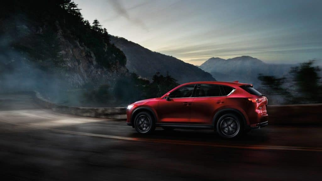 2018 mazda cx-5 small SUV driving