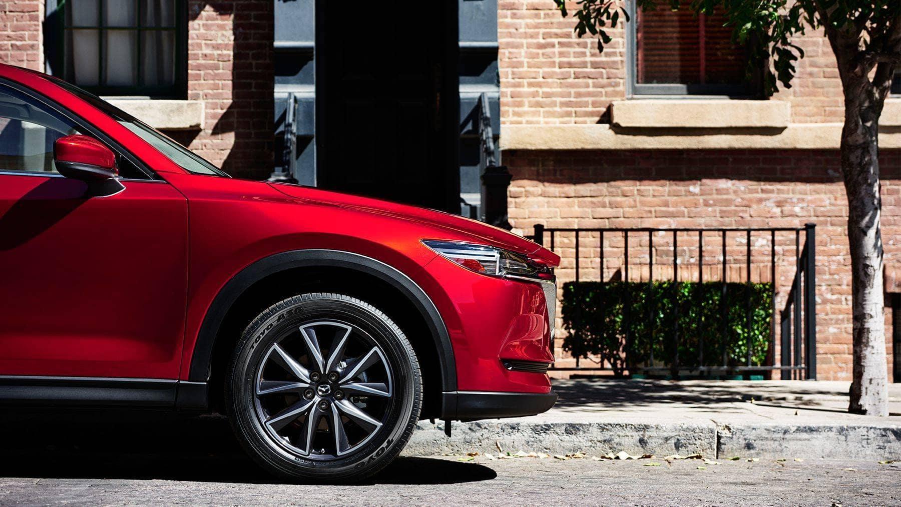 2018 Mazda CX-5 side profile street