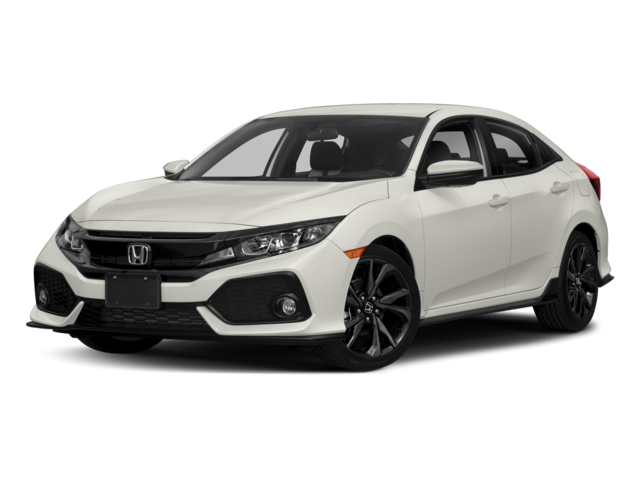 White 2018 Honda Civic