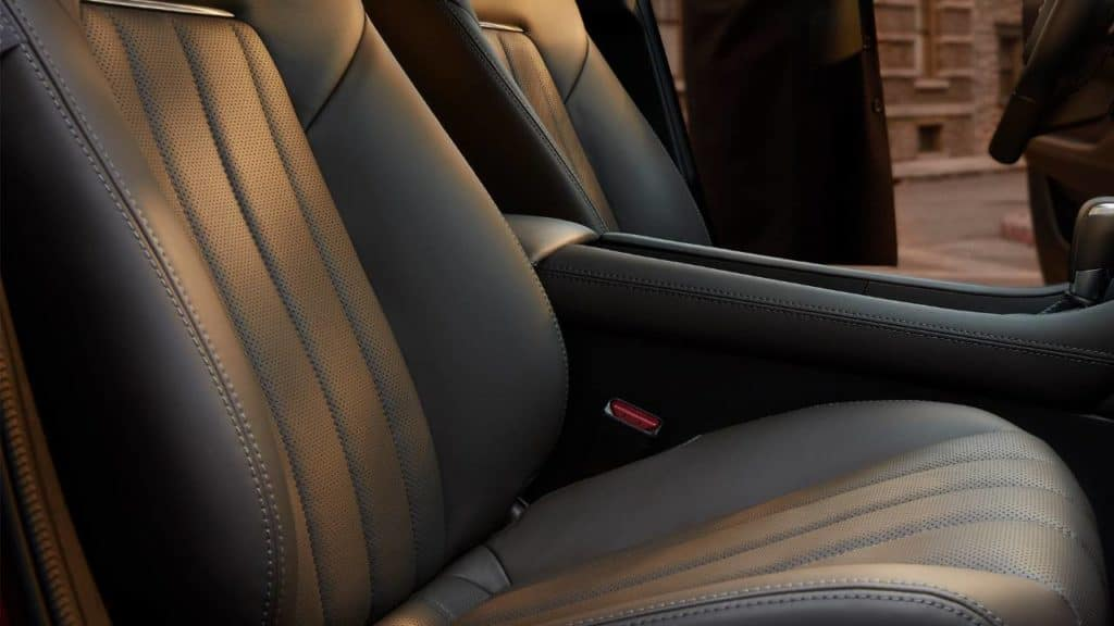2018 Mazda6 leather seats