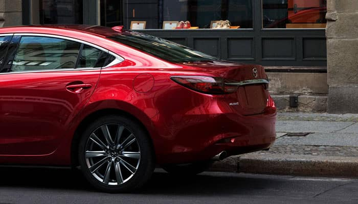 2018 Mazda 6 Rear Parked in Street