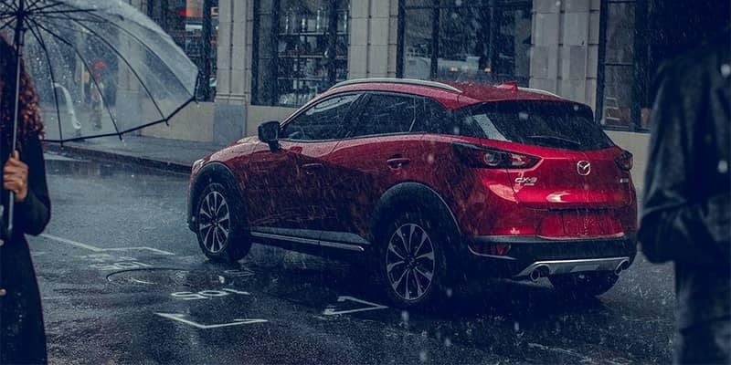 2019 Mazda CX-3 Driving in the Rain