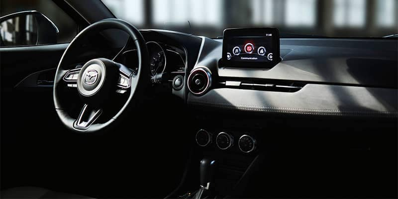 2019 Mazda CX-3 Interior Dashboard Features