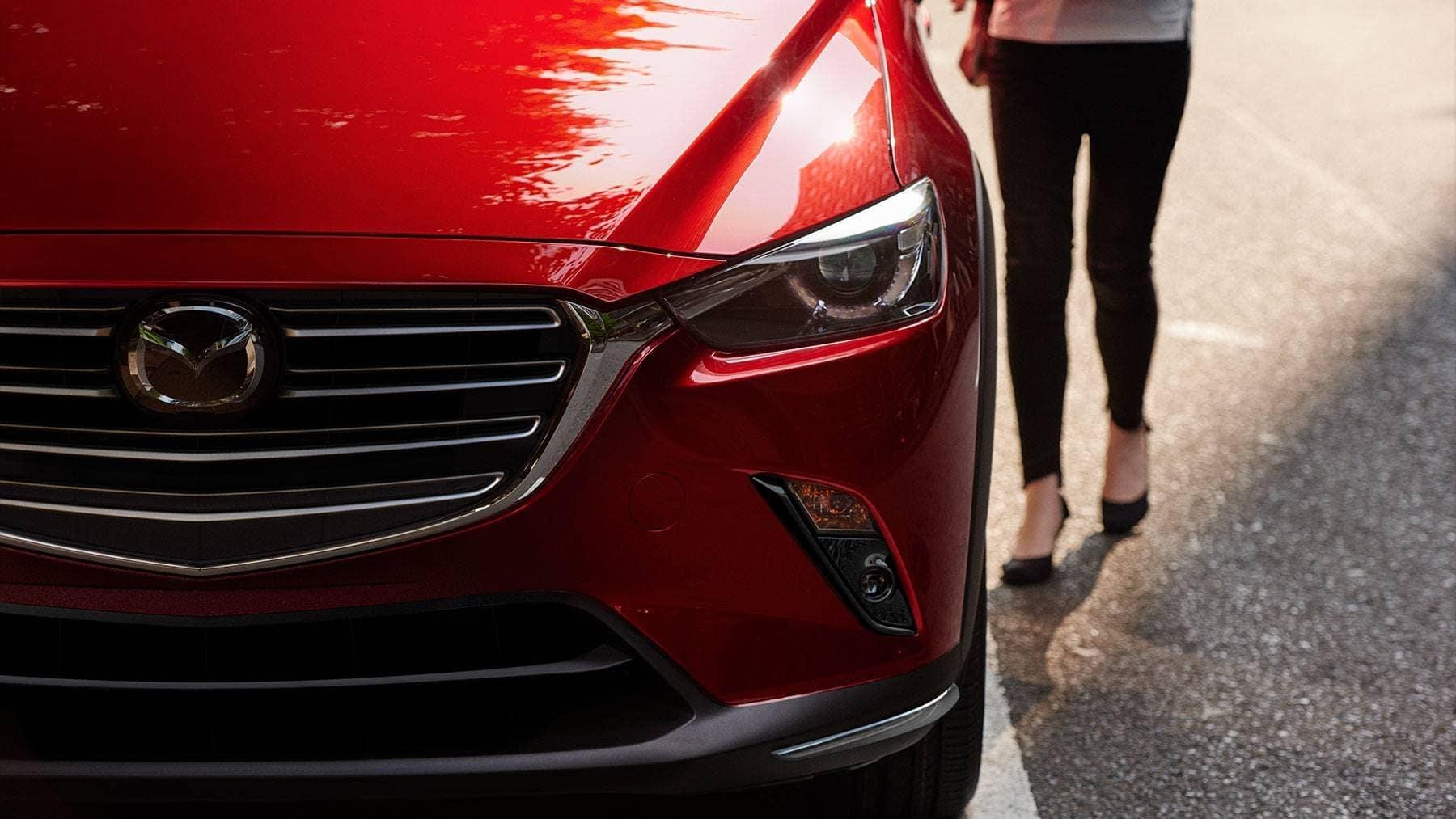 2019 Mazda CX-3 front exterior