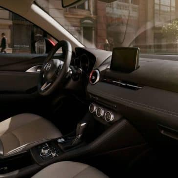 2019 Mazda CX-3 front interior seating