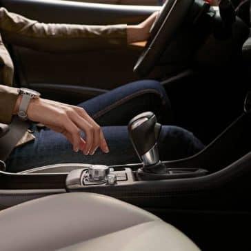 Person in driver's seat of 2019 Mazda CX-3
