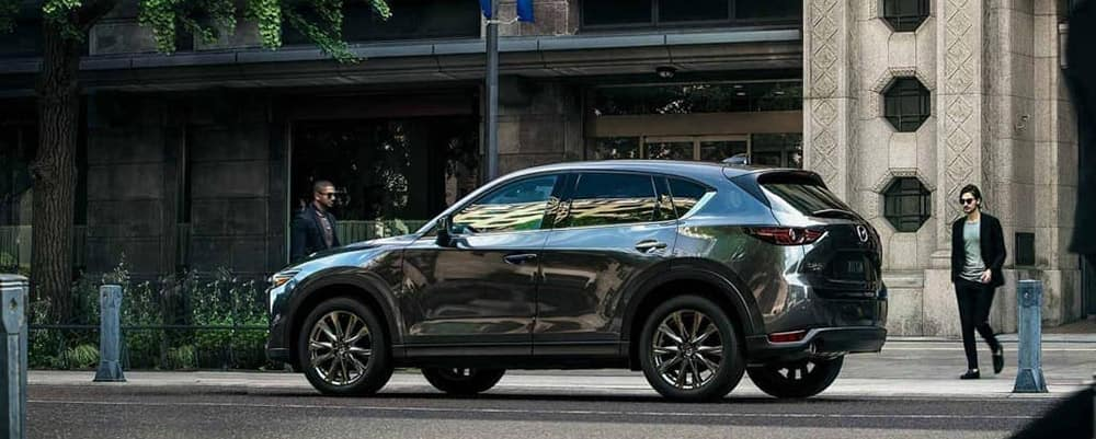 2019 Mazda CX-5 parked on street