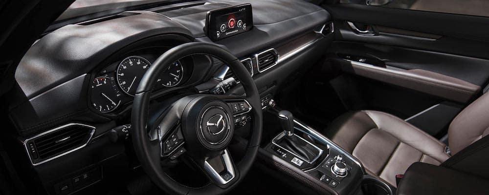 2019 Mazda CX-5 Signature Crossover SUV interior driver's view