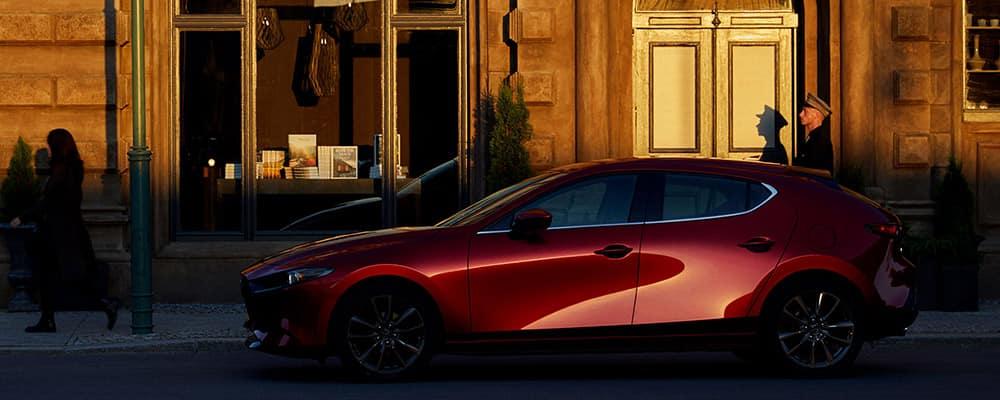 2020 Mazda 3 Hatchback side profile