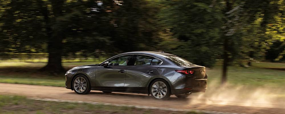 2020 Mazda3 sedan side view