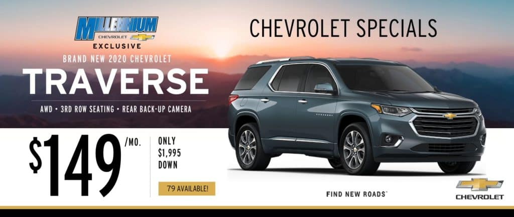 2020 Chevy Traverse All Wheel Drive