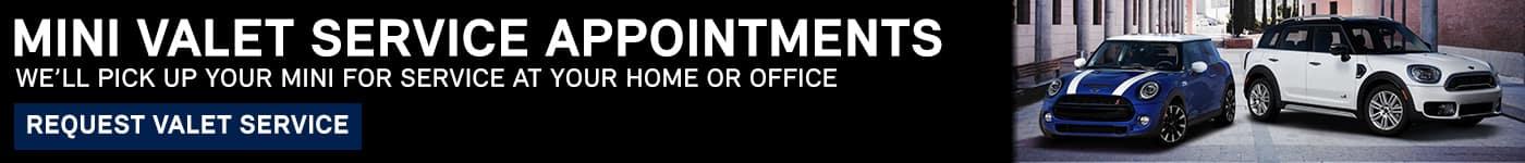 MINI Cooper Home Service Appointments
