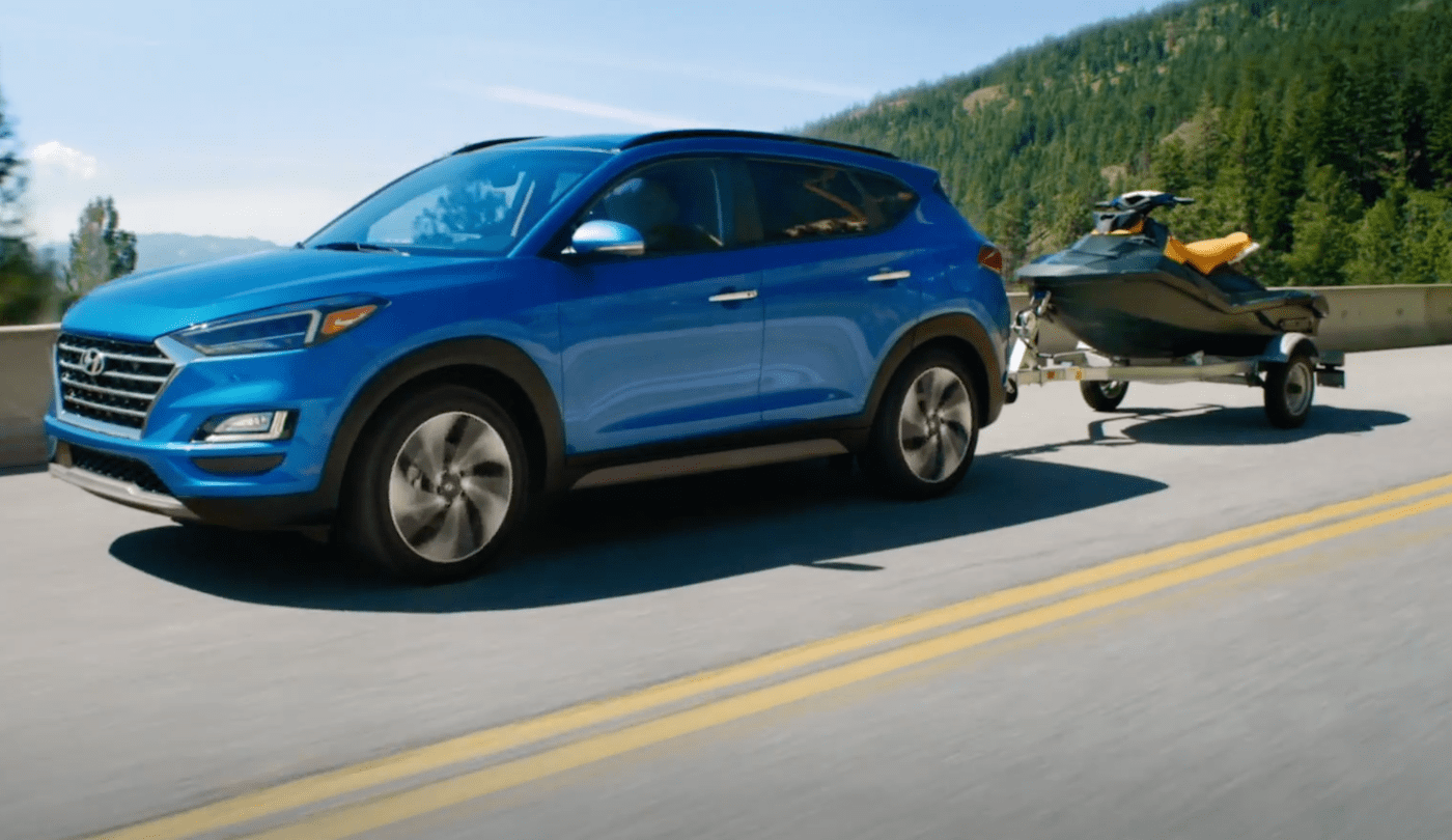The 2021 Hyundai Tucson towing