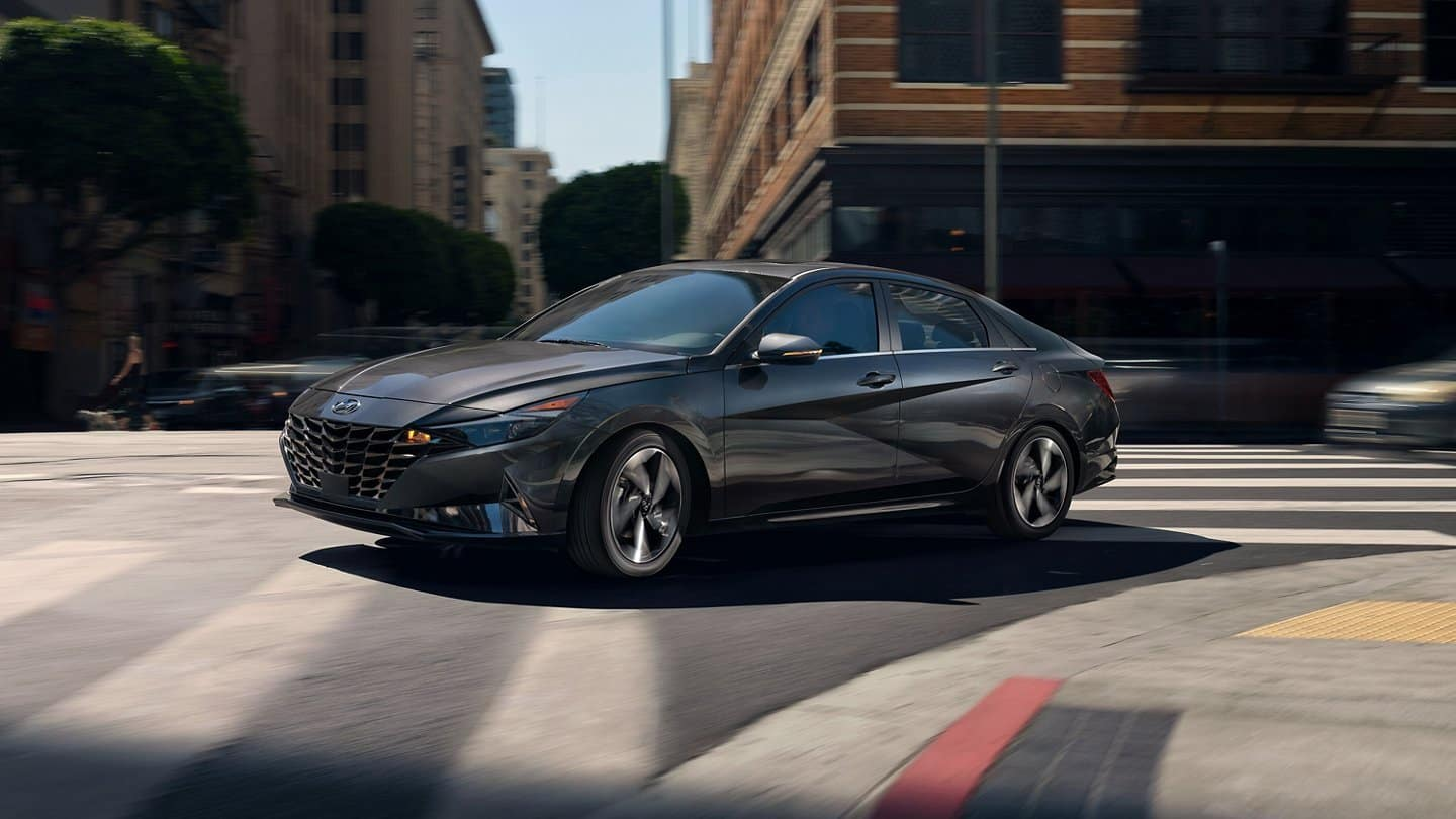 The 2021 Hyundai Elantra available in St. Louis Park and Minneapolis