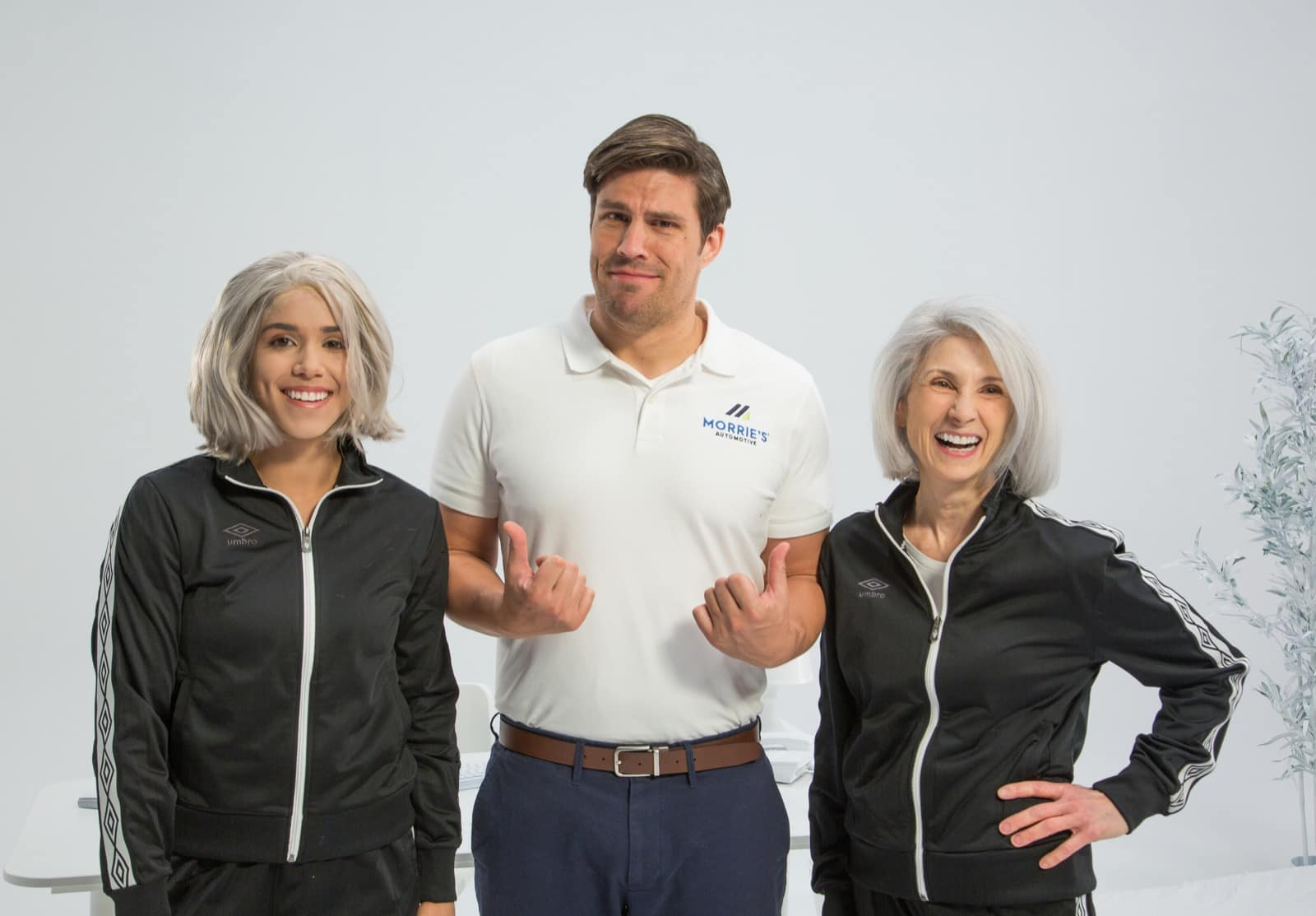 Meet the Flipper from Morrie's Latest Commercial