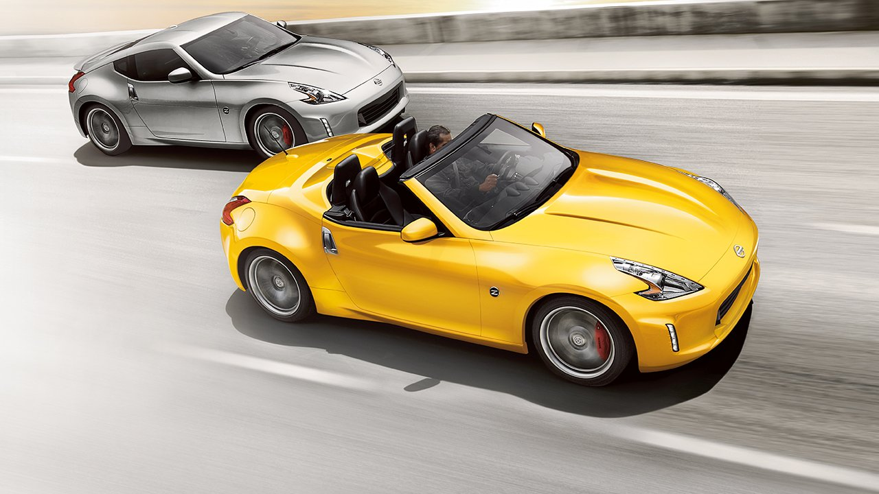 Luxury vehicle Nissan Z roadster HD Wallpaper for iPhone