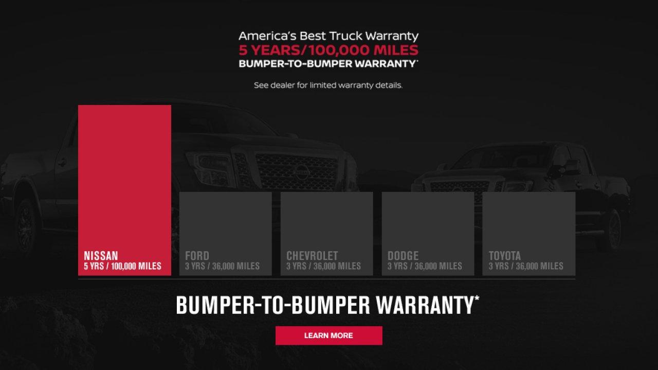 2017-nissan-titan-bumper-to-bumper-warranty