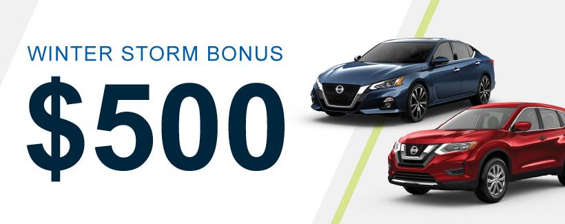 $500 Winter Trade-in Bonus!