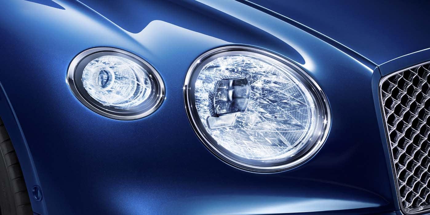 Bentley Continental Headlights