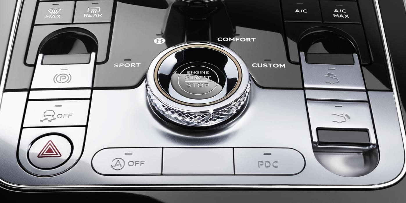 Bentley Continental Interior Console