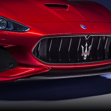 Maserati GranTurismo Grille