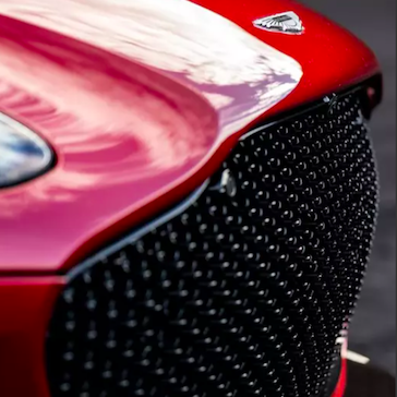 Aston Martin DBS Superleggera grille