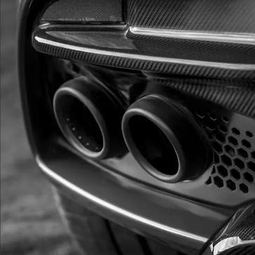 Aston Martin DBS Superleggera tailpipe