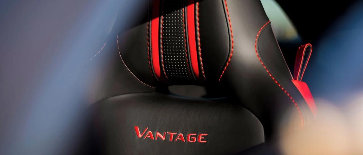 2021 Aston Martin Vantage Front Seat