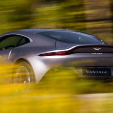 2021 Aston Martin Vantage Rear