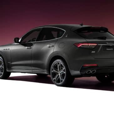 202 Maserati Levante Back