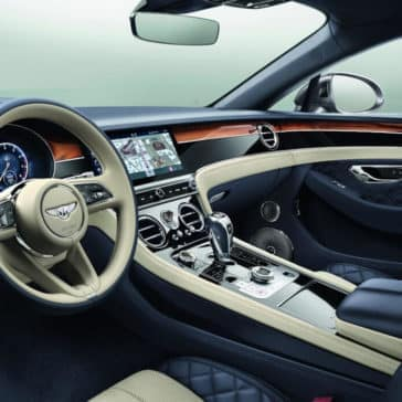 Continental GT Front Interior