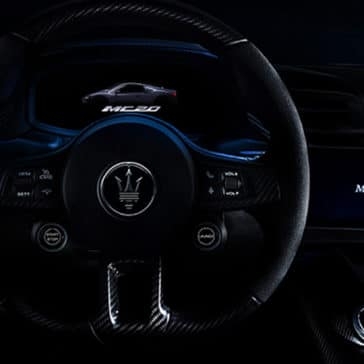 Maserati MC20 Steering Wheel
