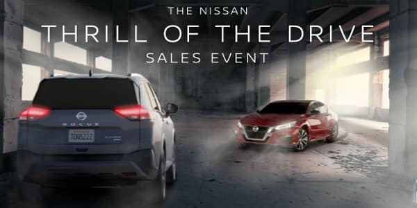 Nissan Thrill of the Drive Sales Event