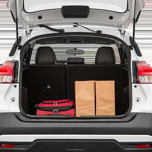 Nissan Kicks Trunk space