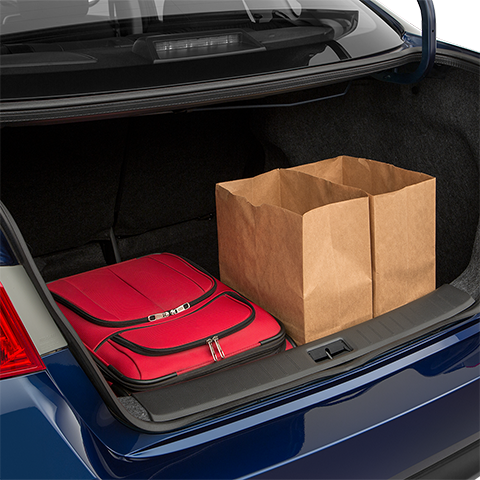 Nissan Sentra Cargo Space