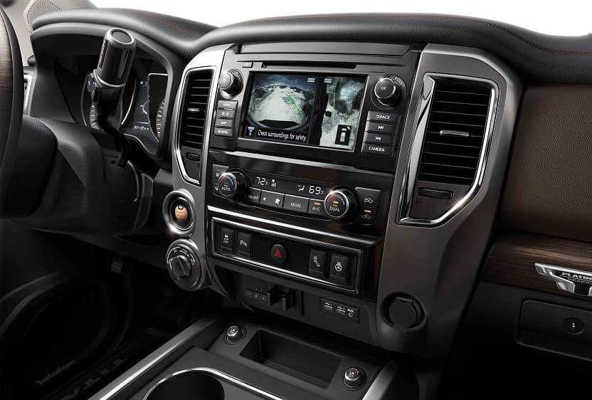 Nissan Titan Interior Technology