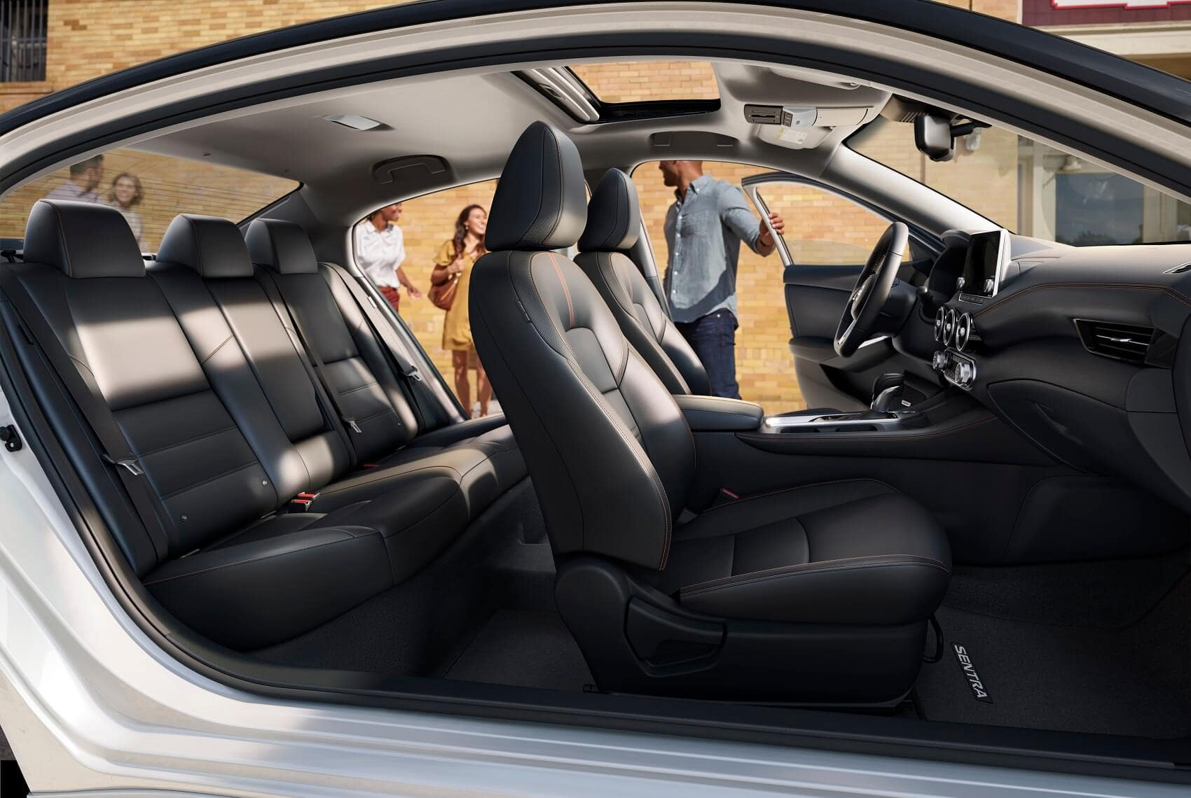 2020 Nissan Sentra Interior Space