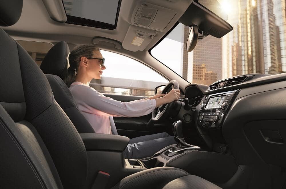 Driving a 2020 Nissan Rogue Sport